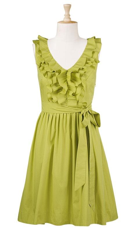 fab colorPoplin Dresses, Clothing Website, Apples Green, Cute Dresses, Bridesmaid Dresses, Families Photos, Cotton Poplin, Fab Colors, Ruffles