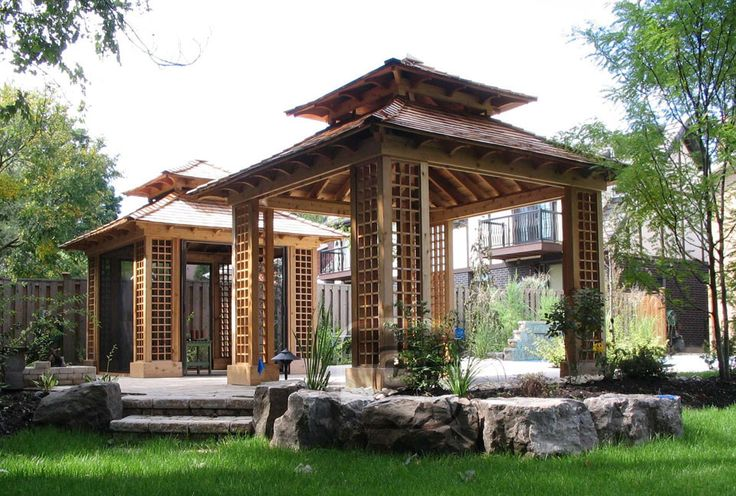 42 best images about gazebo jacuzzi backyard 2014 plans on for Garden cabana designs