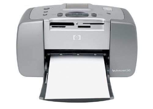 Hp Photosmart 245 Compact Photo Printer Ce Amazon Top