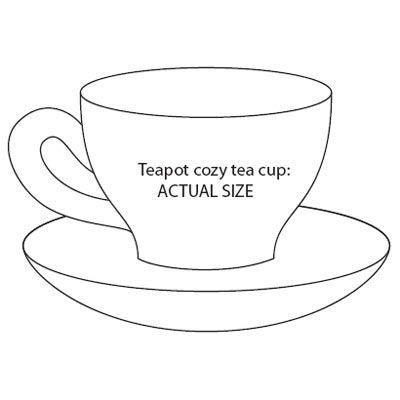 craftaholic: Risco de xícara e bule
