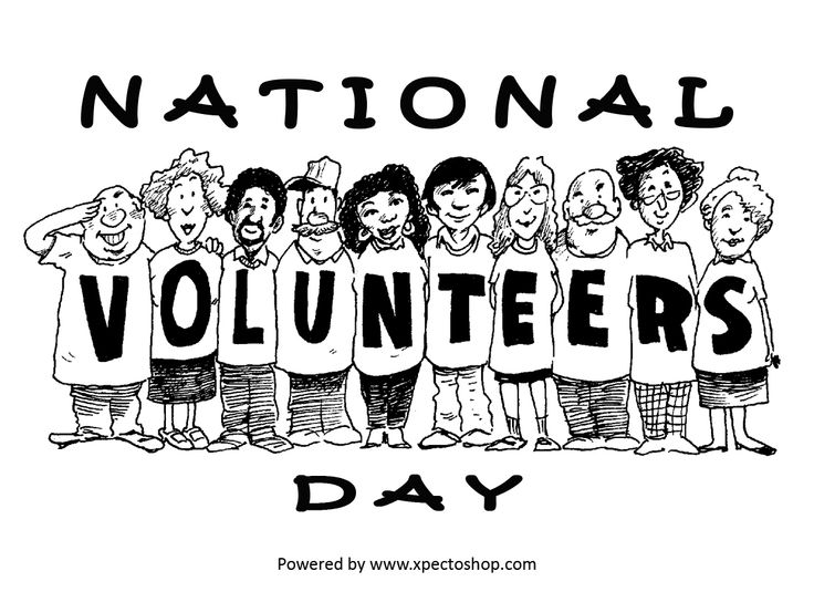 Today is National Volunteer's Day