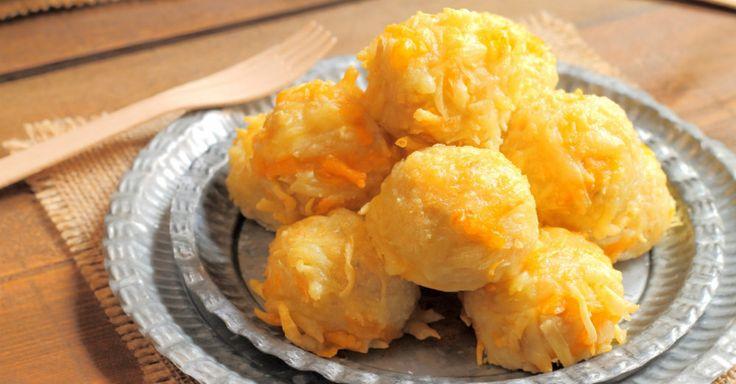 Cheesy Mashed Potato Cabbage Balls