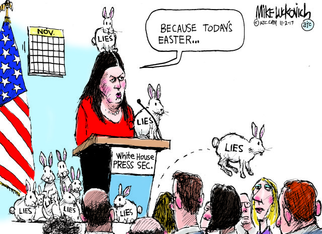 Mike Luckovich | Political cartoons from The Atlanta Journal-Constitution's Pulitzer Prize winner