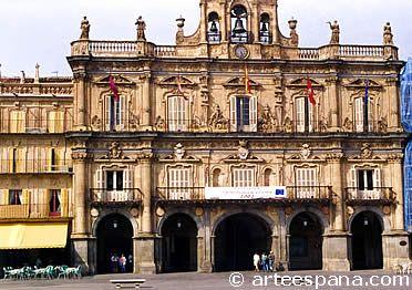 Arquitectura Barroca en España: Plaza Mayor de Salamanca,
