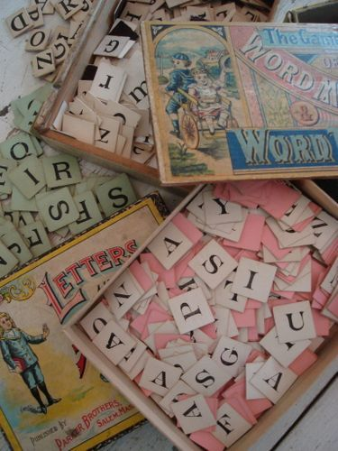 old games with letters to repurpose