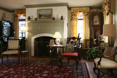 Living Room Jeffersonian Colonial Williamsburg