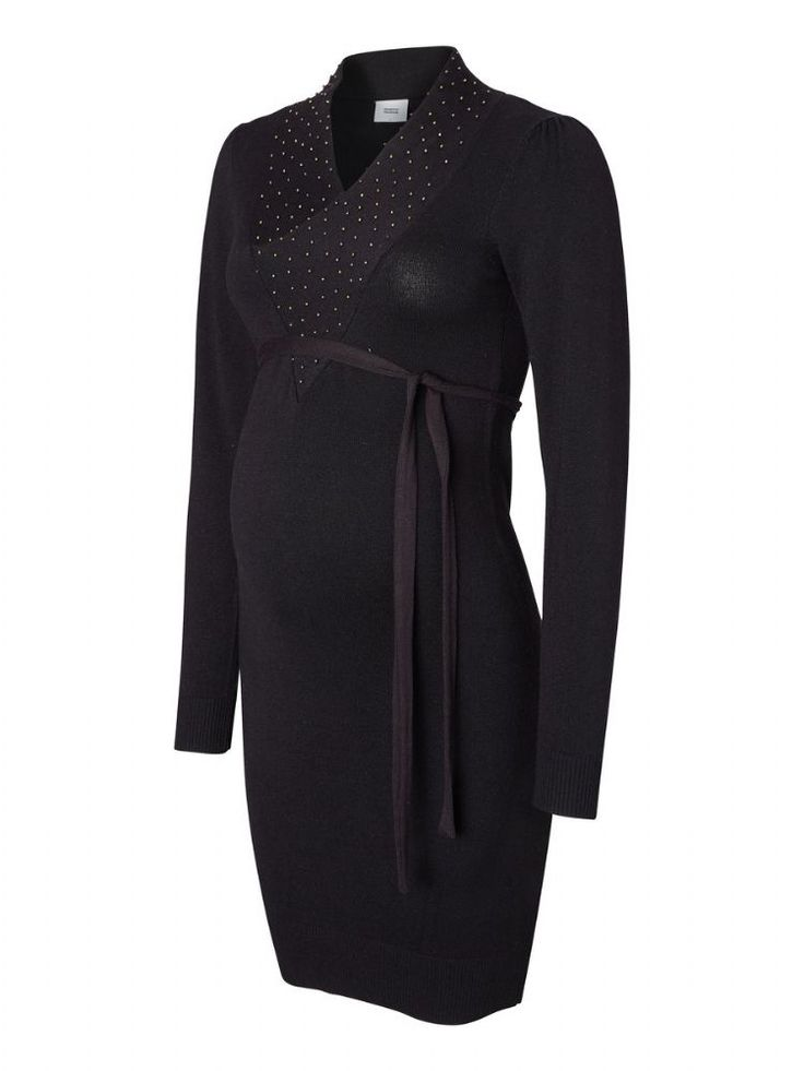 The Petra fine knit maternity dress is a versatile option for wearing whilst pregnant and a useful addition to your maternity clothes The Petra is a