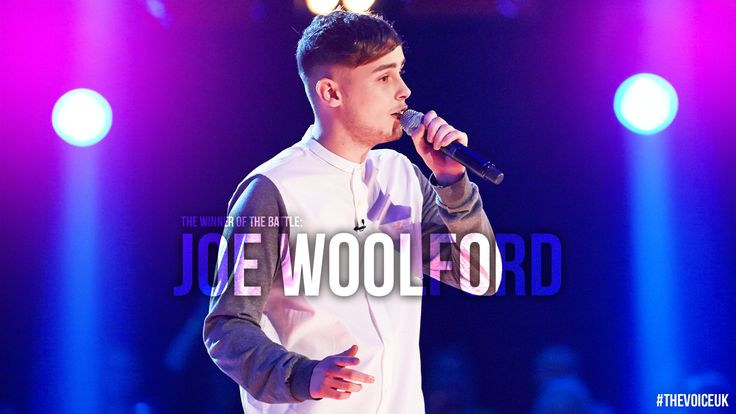 The winner of this head-to-head of heartthrobs is… Joe Woolford! ‪#‎TheVoiceUK‬ ‪#‎TheBattles‬