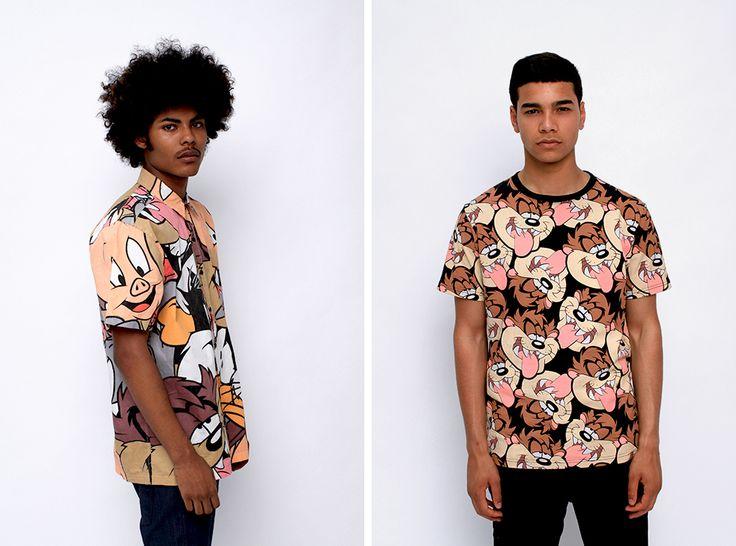 Bedenk een print voor een t-shirt of blouse. Teken zo groot mogelijk op A-3 formaat de omtrek van een t-shirt of blouse. Ontwerp eerst op een ander blad, schets verschillende ideeën. Maak een keuze en werk je idee uit.