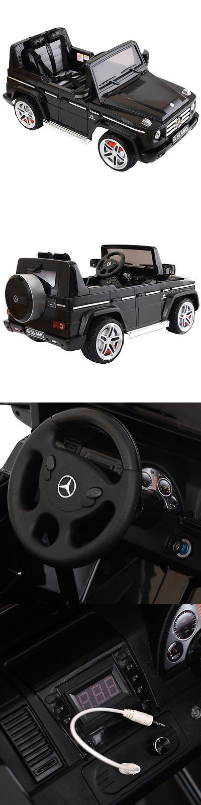 Ride On Toys and Accessories 145944: Mercedes Benz G55 12V Electric Kids Ride On Car Truck Licensed Rc Remote Control -> BUY IT NOW ONLY: $249.99 on eBay!