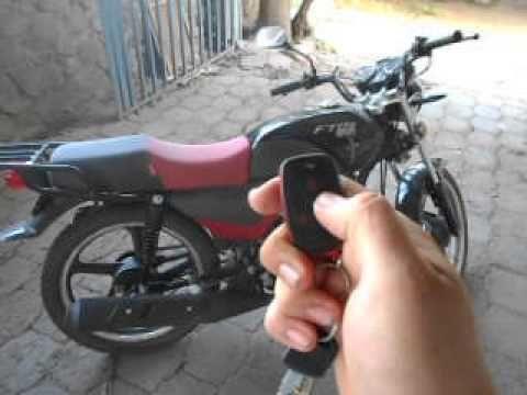 alarma moto italika ft 125 - YouTube