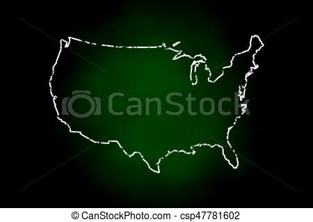 Line Art Usa Map : Best maps usa states counties cities logo images on