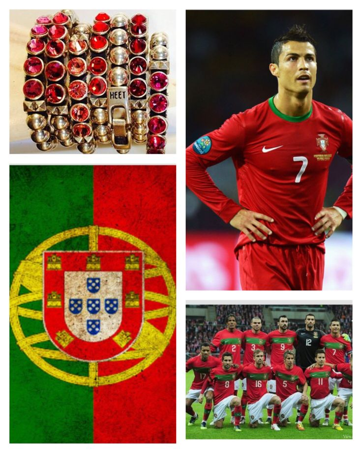 Show your colors  support your country's team in the 2014 FIFA #WorldCup with #HEET's #swarovskicrystal #bracelets - Get 15% off (domestic  international sales) w/ code LAHEET at shopHEET.com - #Ronaldo #Portugal #christianoronaldo #soccer #football #futbol #worldcupaccessories #jewelry #espn #brazil  @shopheet