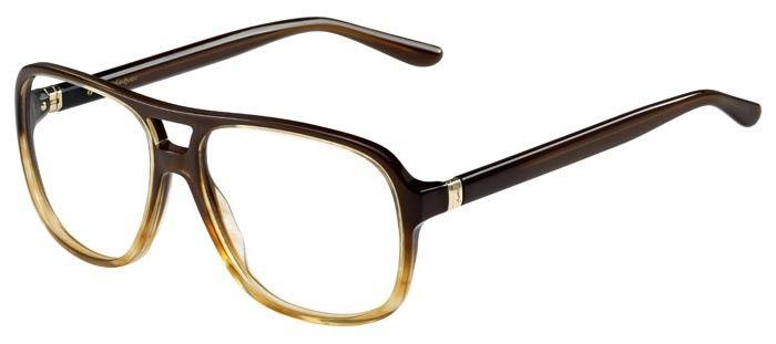 Lunettes de vue pour homme Yves Saint Laurent YSL-2347 marron.