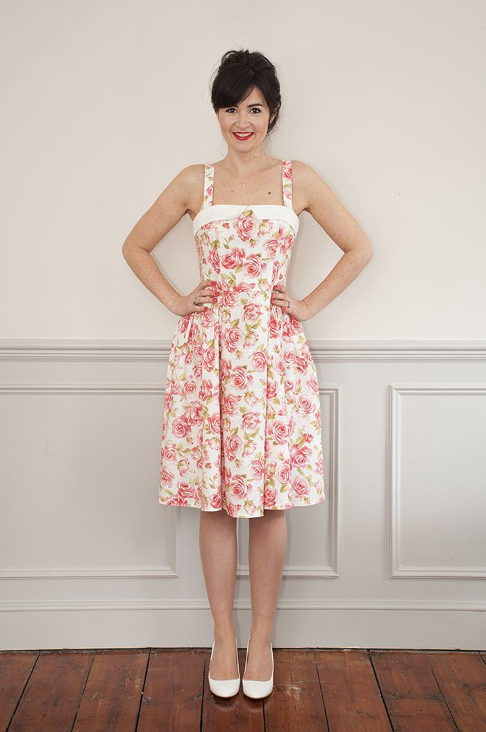 Rosie Dress Sewing Pattern from Sew Over It | beautiful 1950s-style vintage-inspired influences!