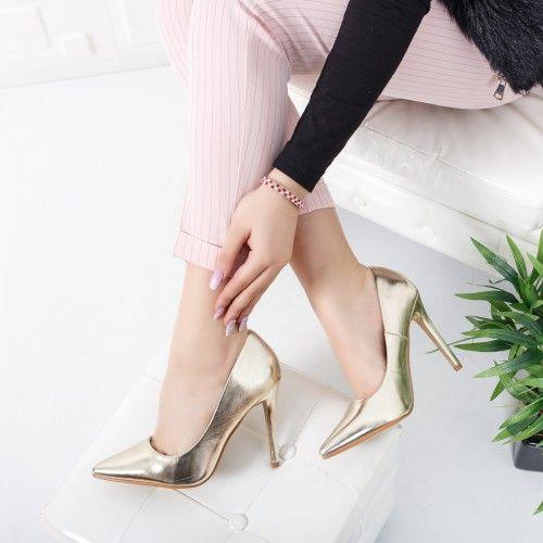 Pantofi dama Mimoz aurii