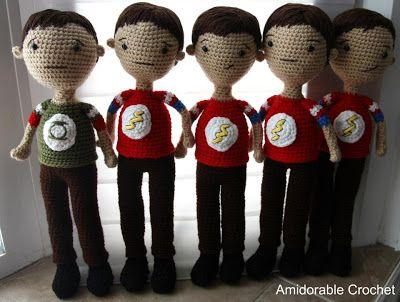 Amigurumi Boy Doll Pattern : 142 best big bang theory images on pinterest big bang theory