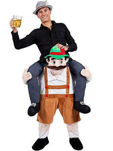 Novelty Carry Me Ride on Easter Mascot Costume Animal Funny Fancy Dress Pants-Oktoberfest >>> Want additional info? Click on the image. (This is an affiliate link and I receive a commission for the sales) #wakeupandmakeup
