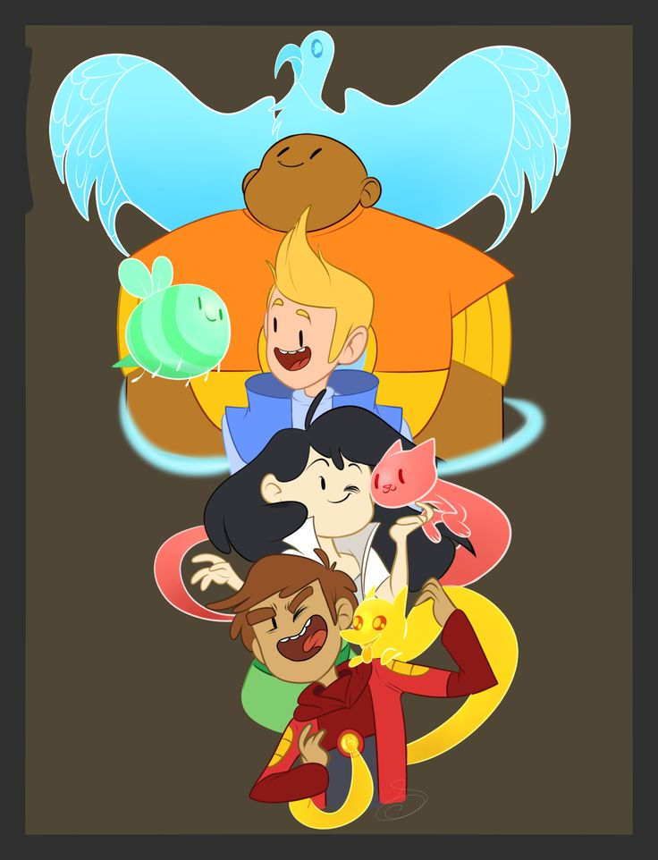 bravest warriors wallow,chris,beth y danny