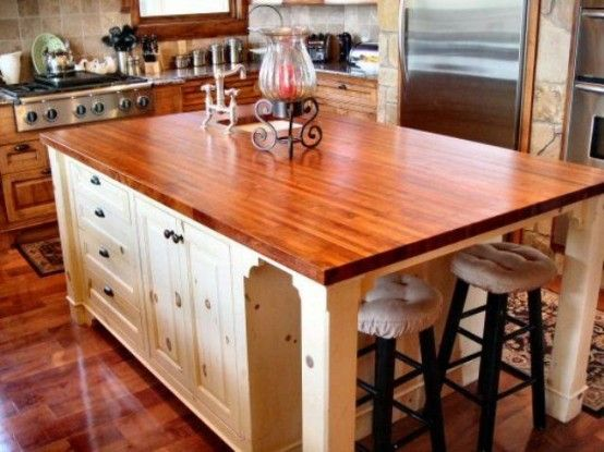 Подборка: деревянные кухонные столешницы (50 фото) :: Калининград - Remont-39 - Все о ремонте в Калининграде!