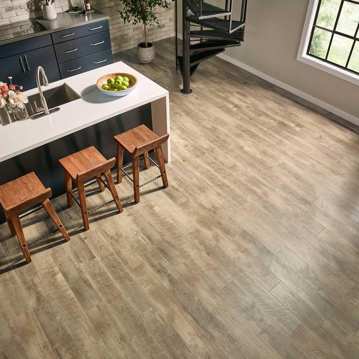 Pergo Outlast+ Southport Oak 10 Mm Thick X 6 1/8 In. Wide X 47 1/4 In.  Length Laminate Flooring (16.12 Sq. Ft. / Case). Island KitchenFlooring  IdeasBasement ...