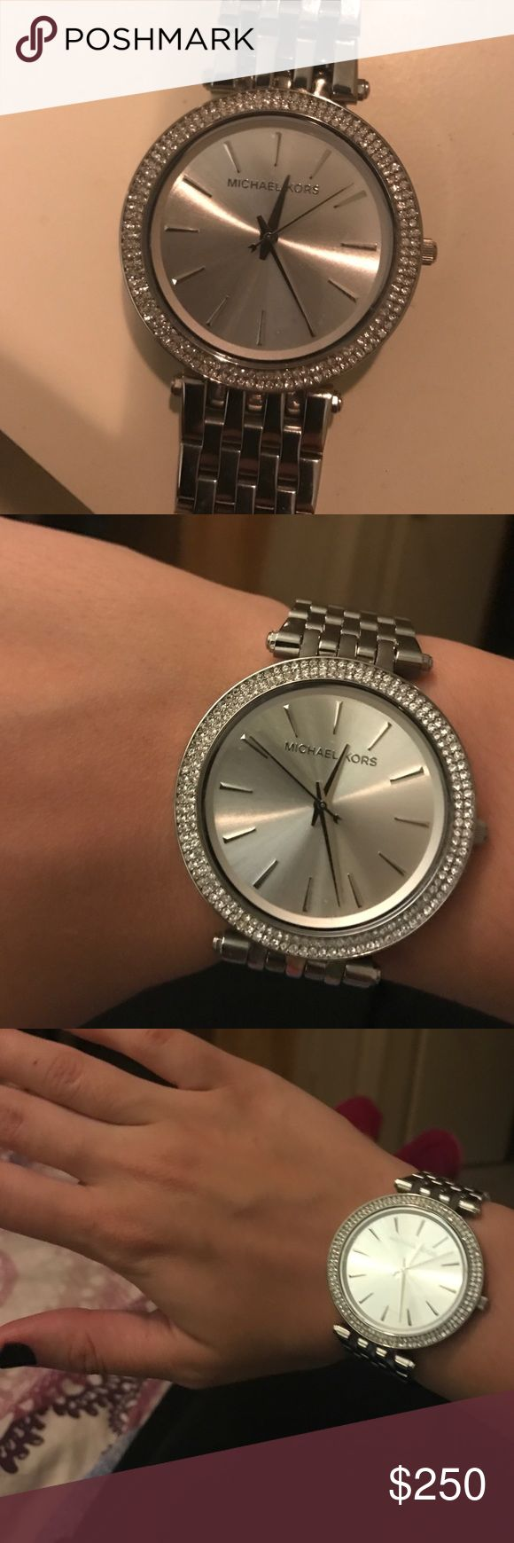 Brand new Michael Kors womens watch Brand new, stainless steel, never worn, silver-tone hardware. Michael Kors. Michael Kors Accessories Watches