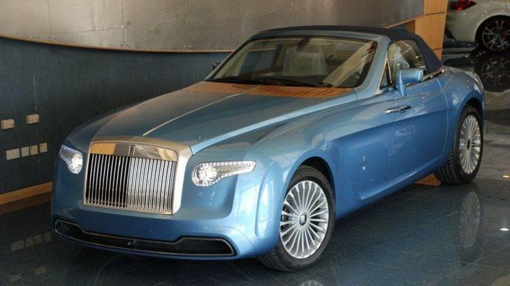 Rolls-Royce Hyperion for sale at Abu Dhabi showroom - Autoblog