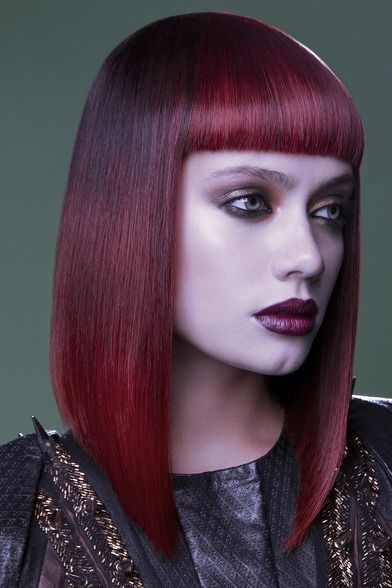 Gothic Punk Pink Hair #ghdpinkdiamond  Hairstyle by Sam Burnett