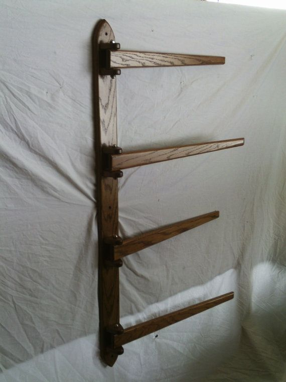 Multiple Hanging Quilt Rack by CountryHandsWoodwork on Etsy