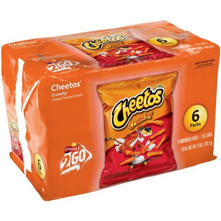 Cheetos® Crunchy Cheese Flavored Snacks 6-1 oz. Bags