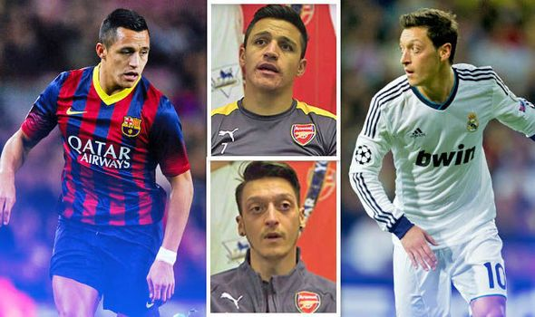 Alexis Sanchez and Mesut Ozil make revelations about signing Arsenal contracts   via Arsenal FC - Latest news gossip and videos http://ift.tt/2n6uT90  Arsenal FC - Latest news gossip and videos IFTTT