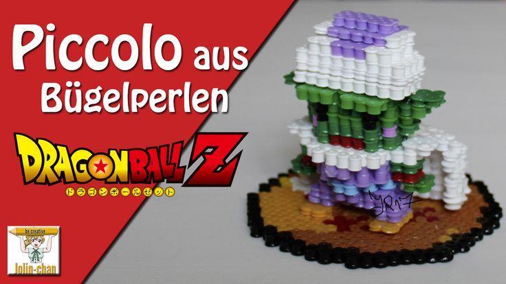 Piccolo 3d Perler Bead from Dragon  Ball