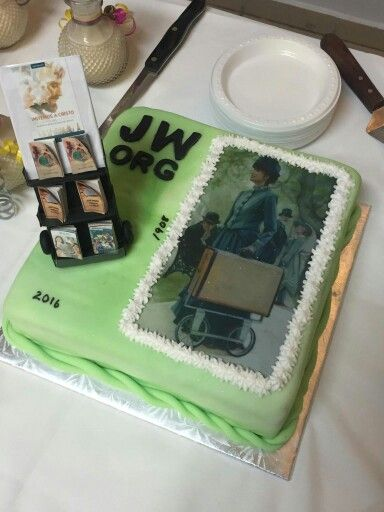 JW pioneer cake