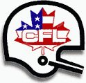 The CFL logo that reflected the U.S. expansion. It wasn't a bad idea, but the NFL is so entrenched in the hearts and minds of American Football fans it was hard for these teams to survive. Also, the CFL has financial problems of it's own.