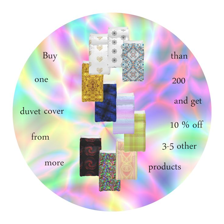 Till July 2 2015!!! For the FireFairy's shop (on Redbubble) ONLY! Buy 1 duvet cover and get 10 % off for other products (excluding duvet covers) of this shop. For twin size you get 10% off for 3 products, for queen - for 4, king - 5! Guide in this pin: https://www.pinterest.com/pin/433823376582829960/ If you have any questions please ask in this pin: https://www.pinterest.com/pin/433823376582830039/ The offer is valid for all bought duvet covers since January 2015.