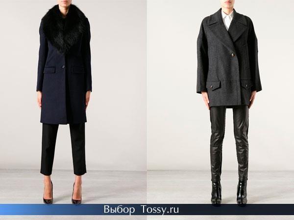 Осеннее пальто стеганное для женщины 50 лет