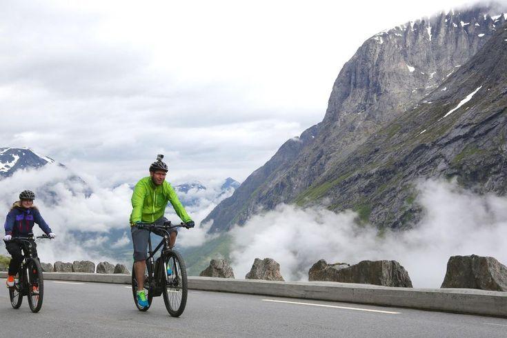 El-sykkeltur til fjells Slik kan du el-sykle Trollstigen til topps med ren glede