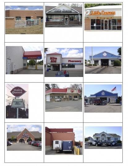 Block Center-Pictures of places in the community you can attach to blocks. This fabulous website provides 2 free downloads of photos: going to get all the parents to take pictures of their homes and i will put them on blocks for the kids. This is sure to be a conversation starter amongst the children!