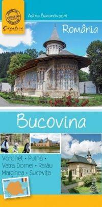 Ghid turistic de buzunar - Bucovina  • aproximativ 150 de fotografii.  • 96 de pagini color;  • coperta cu clapă;  • hartă generală Bucovina,  pe coperta 2;  • hartă Vatra Dornei,  pe coperta 3;  • peste 30 de destinaţii şi obiective turistice majore din Bucovina;