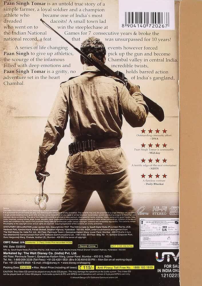 Paan Singh Tomar 2012 Best Bollywood Movies Good Movies On Netflix Hindi Movies