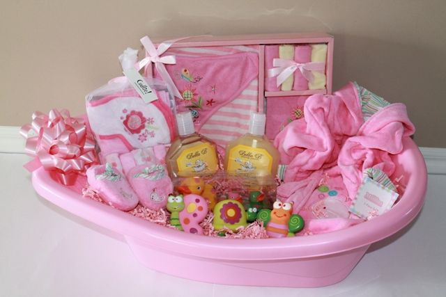 Baby Girl Gift Ideas: 1000+ Ideas About Homemade Gift Baskets On Pinterest