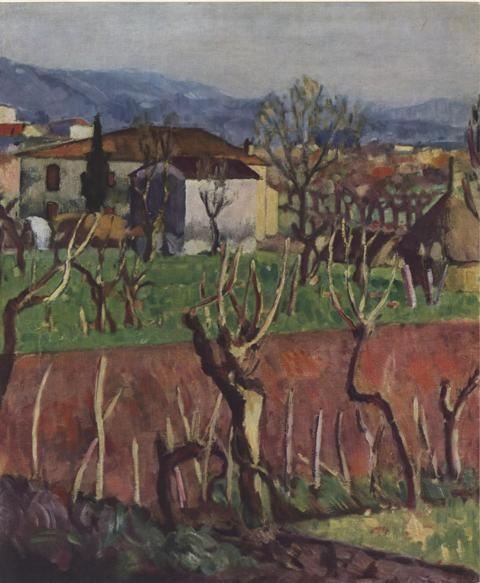 Ardengo Soffici, Casa colonica del Poggio (1920)