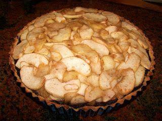 Elmira paleo konyhája: Mákos-almás pitetorta