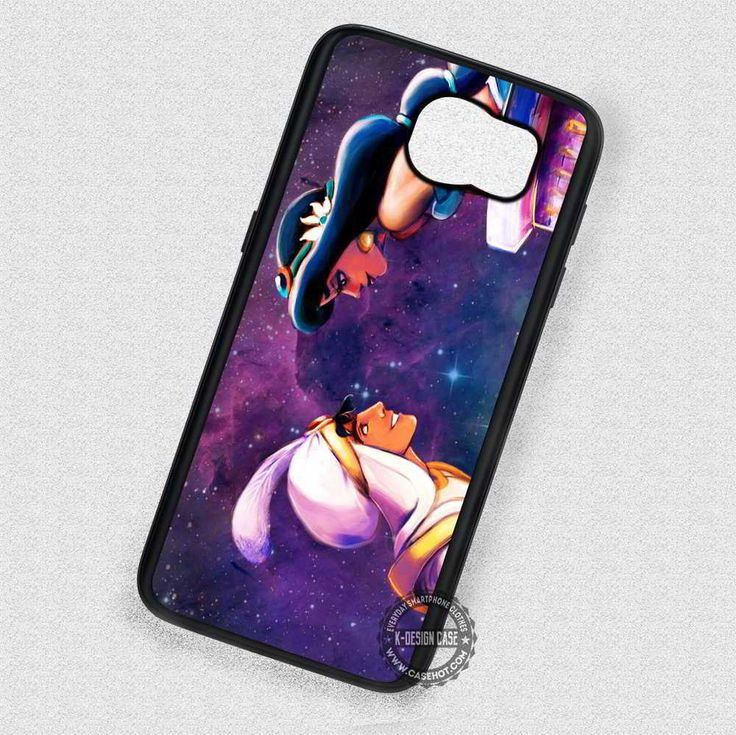 Meet in The Nebula Aladdin and Jasmine - Samsung Galaxy S7 S6 S5 Note 7 Cases & Covers