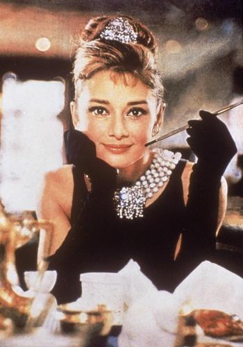 Audrey Hepburn - the famous photo