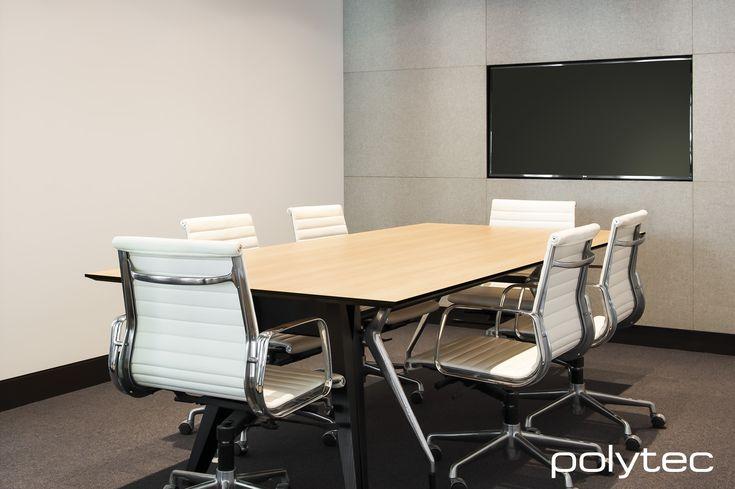 Desk top in Palace Teak Matt Compact Laminate