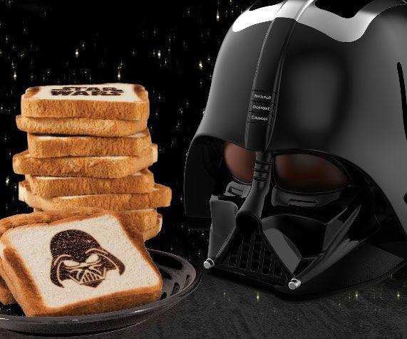Darth Vader Toaster Helmet - http://tiwib.co/darth-vader-toaster-helmet-2/ #KitchenCooking