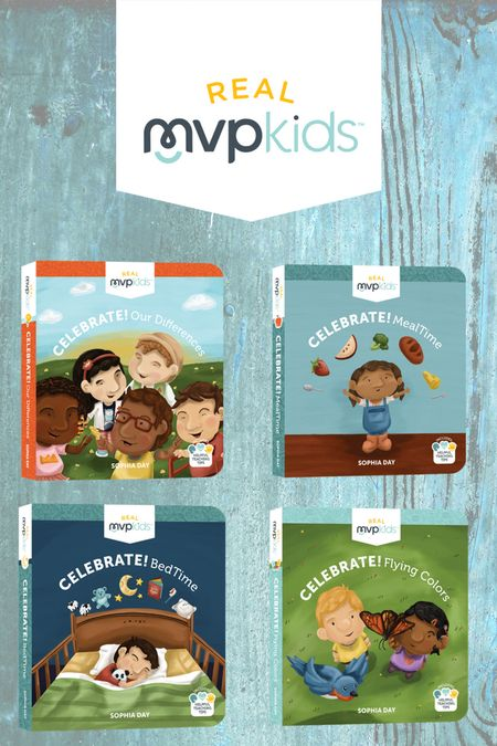 Real MVP Kids Books - Showing Diversity while teaching toddlers everday life skills