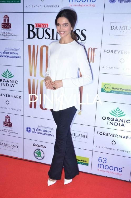 Deepika Padukone addresses the Bollywood pay gap issue at the 'WOW 2015' event   PINKVILLA