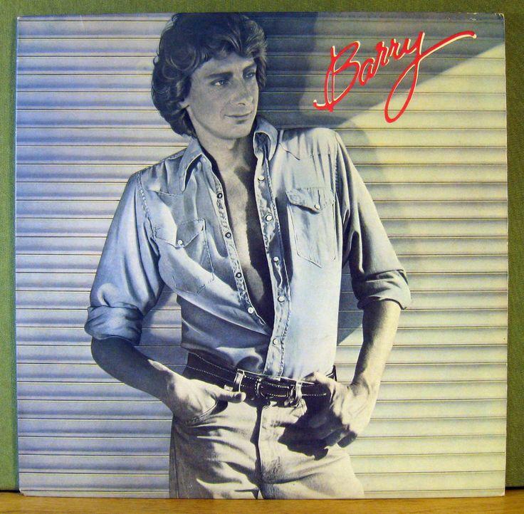 "BARRY MANILO - ""BARRY""  VINTAGE 1980 ARISTA RECORDS - VINYL LP ALBUM"